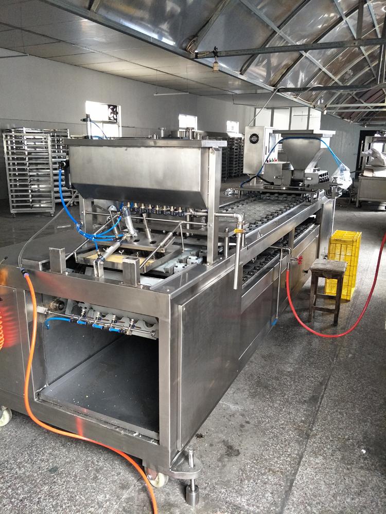 全自动蛋饺机器 自动蛋饺机自动翻模蛋饺机