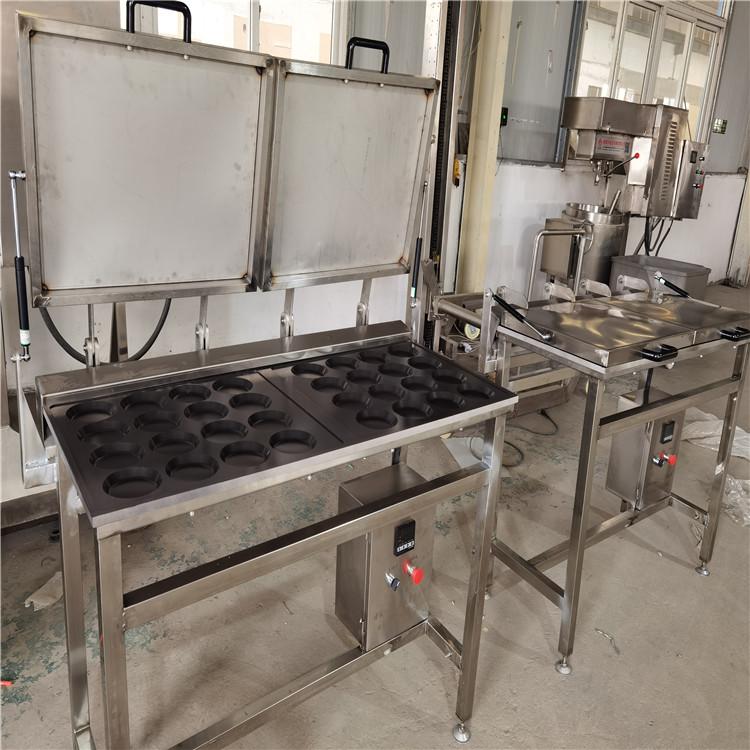 荷包蛋煎蛋机 全自动煎蛋机 自动不锈钢煎蛋机设备