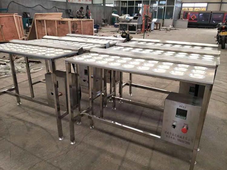 小型煎荷包蛋设备 生产煎荷包蛋机